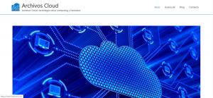 archivos cloud page