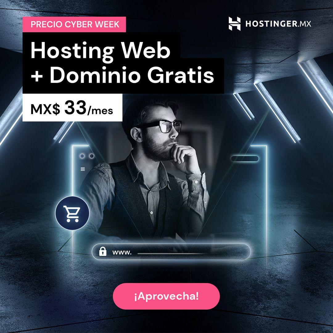 Cyber Monday Hosting Rafael Santiago 2020